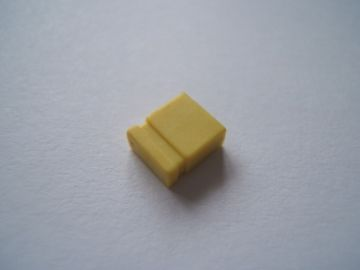 Yellow Jumper Link 2.54mm Pack of 10